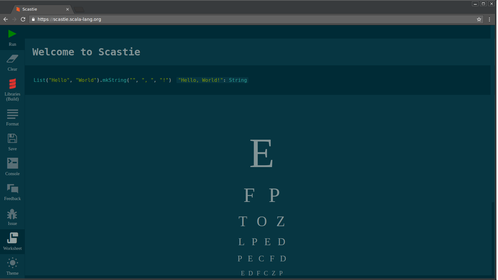 Introducing Scastie - An interactive playground for Scala ...